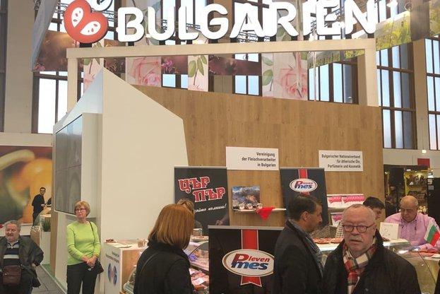 """Зам.-министър Вергиния Кръстева откри българския щанд на изложението """"Зелена седмица"""" в Берлин"""