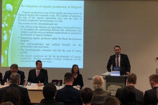 Заместник-министър Маринов посети българския щанд на Международното изложение за биологични продукти BioFach 2020